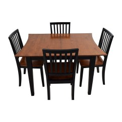 Cheap Kitchen Table And Chairs Knoll Desk Chair Discounted Tables Image To U