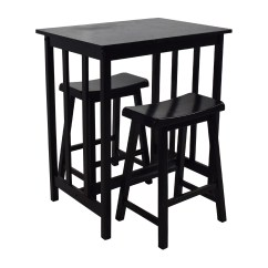 Discount Kitchen Table Sets Square Island 66 Off Tall Set Tables