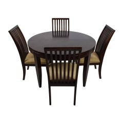 Chairs For Table Small Office Club 75 Off Macy 39s Bradford Extendable Dining