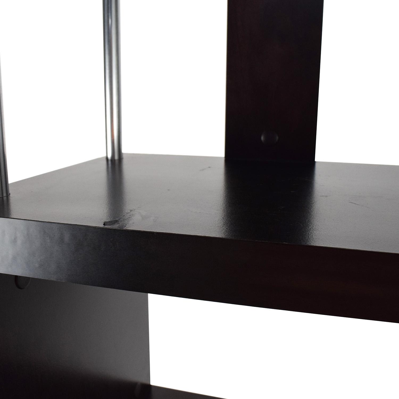 70 OFF Tall Zigzag Shelf Unit Storage