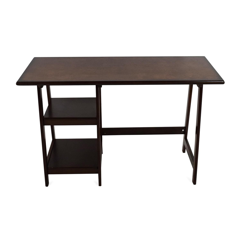 Office Desk Dark Wood
