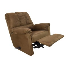 Recliner Chair Stool Modern And Ottoman 73 Off Ashley Furniture Darcy Rocker