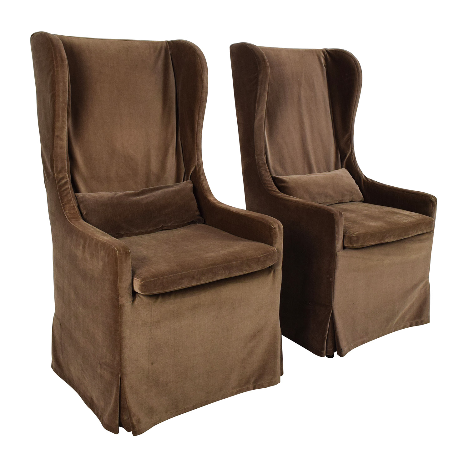 Used Wingback Chairs 90 Off Restoration Hardware Restoration Hardware