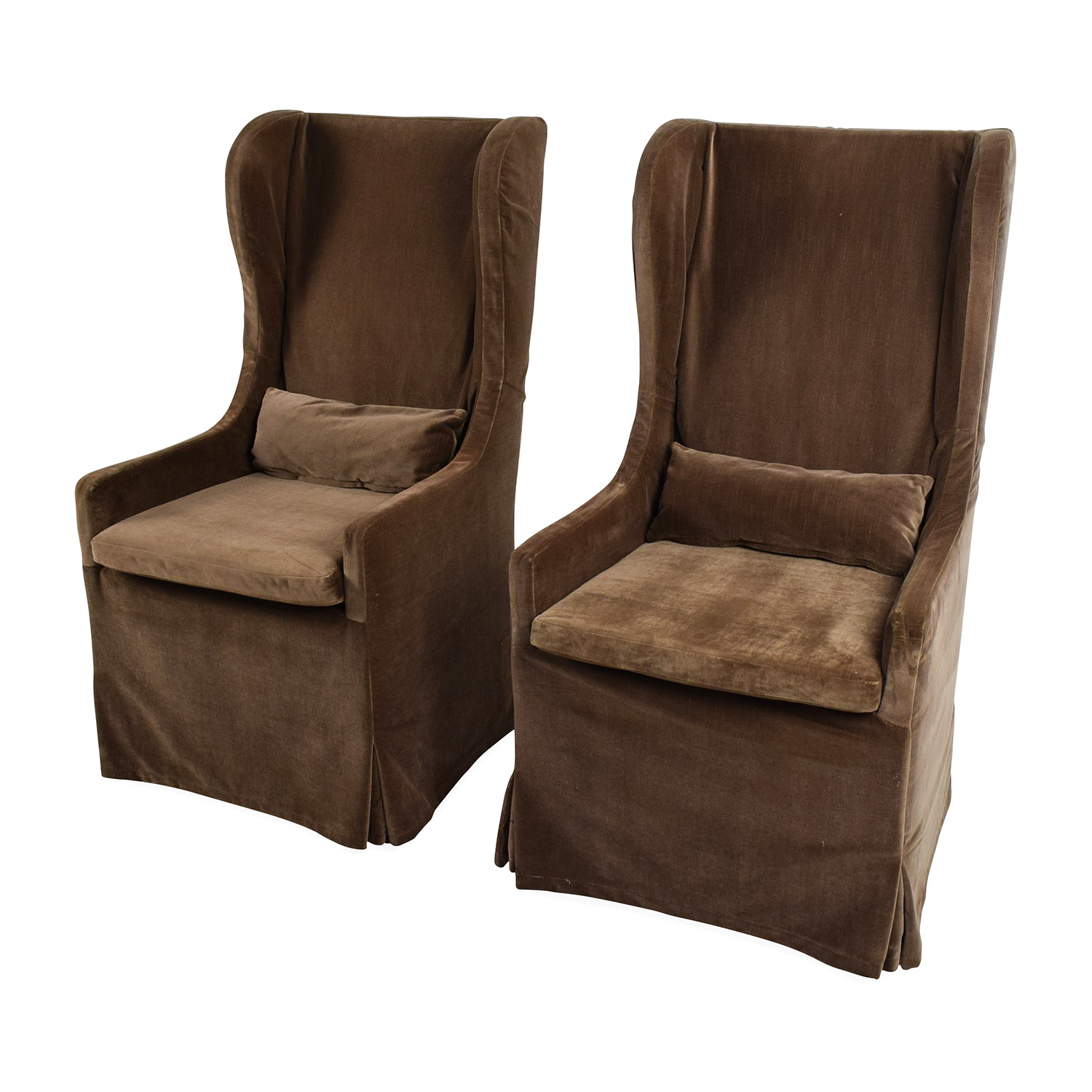 accent wingback chairs spindle back chair 90 off restoration hardware