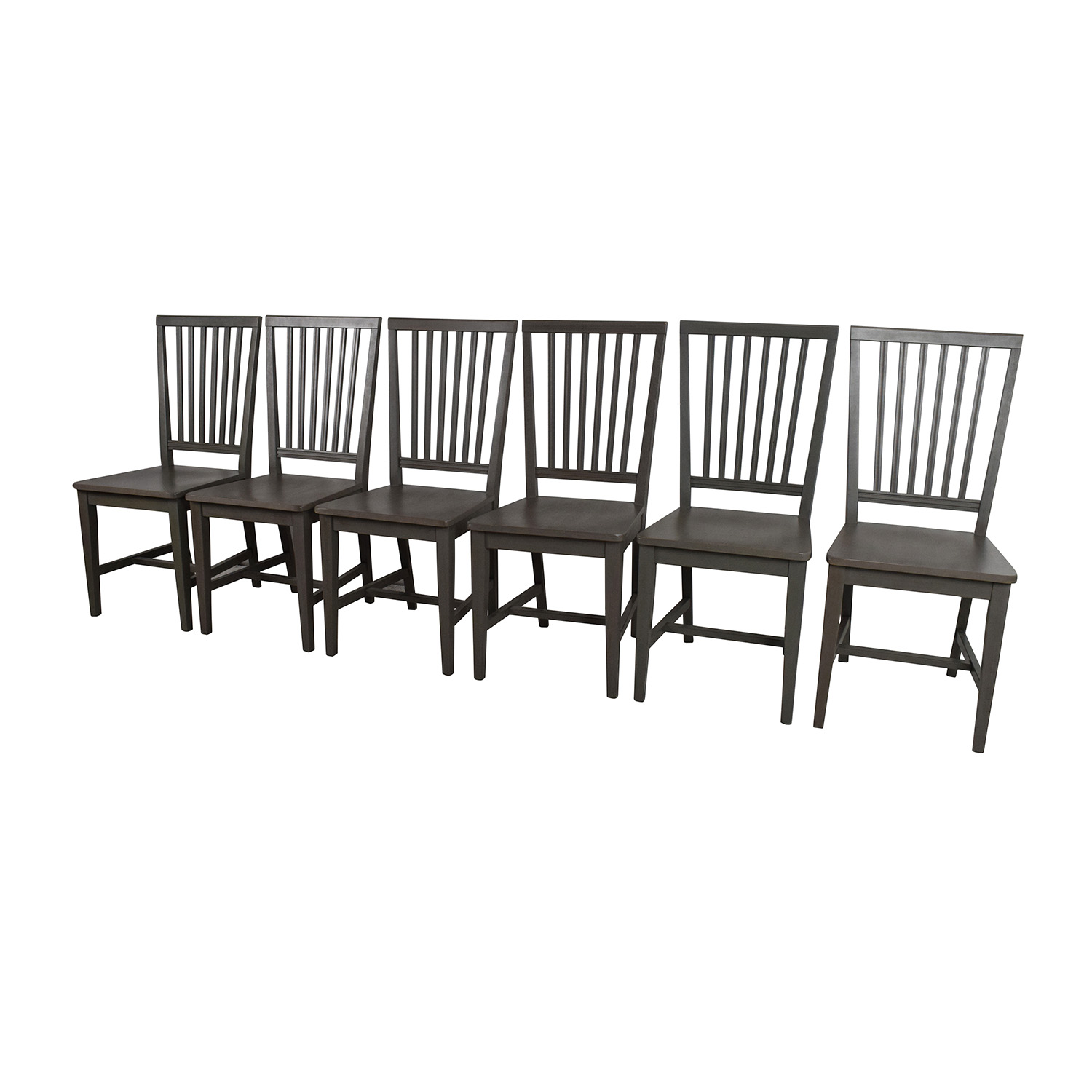 crate and barrel chairs dining chair yoga for seniors 75 off village grigio