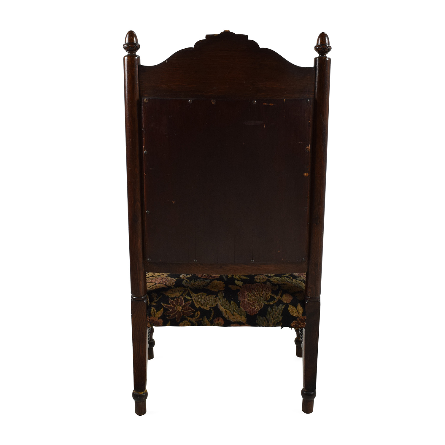 84 OFF  Antique Tudor Upholstered Chair  Chairs