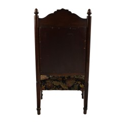 Antique Accent Chair Desk Lowes 84 Off Tudor Upholstered Chairs