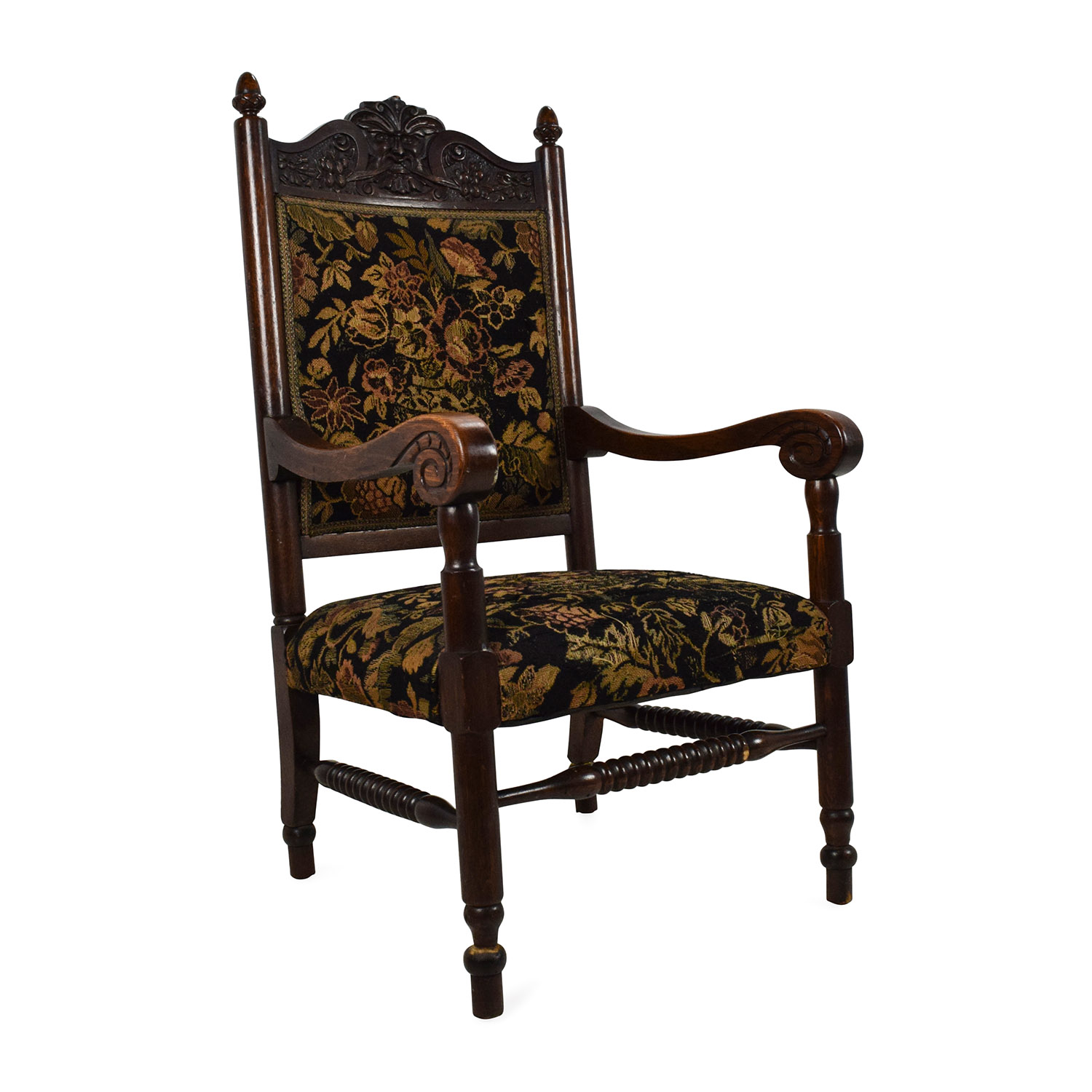 Antique Accent Chairs Vintage Accent Chair