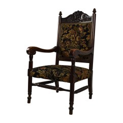 Antique Accent Chair Serta Office Warranty Claim 84 Off Tudor Upholstered Chairs