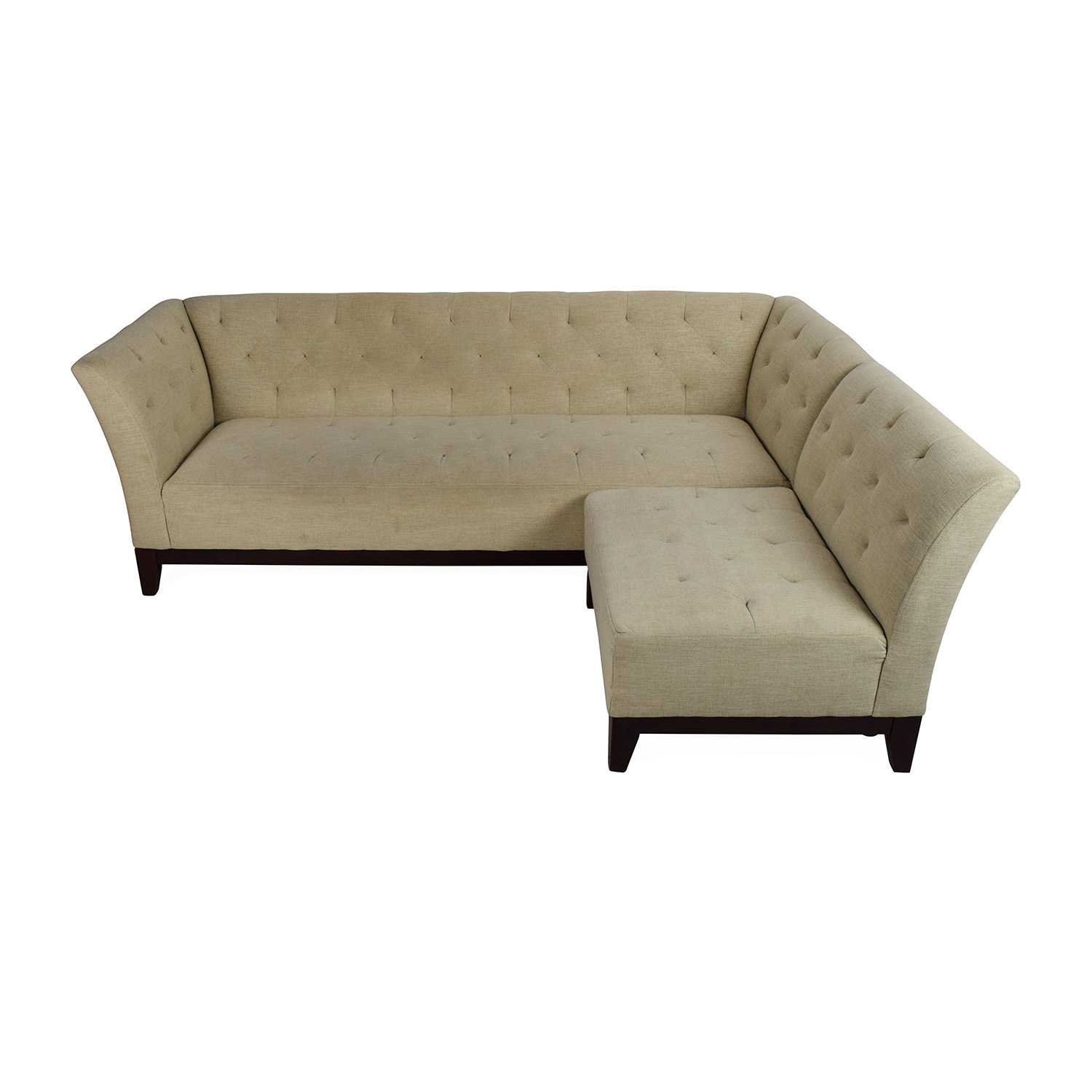 charcoal gray tufted sofa geneva bed best price macys kaleb leather collection
