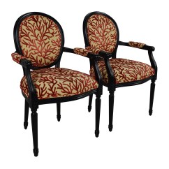 Ballard Designs Upholstered Dining Chairs Pool Lounge Costco 84 Off Oval Back Louis