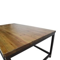 58% OFF - Pottery Barn Pottery Barn Wood Coffee Table / Tables