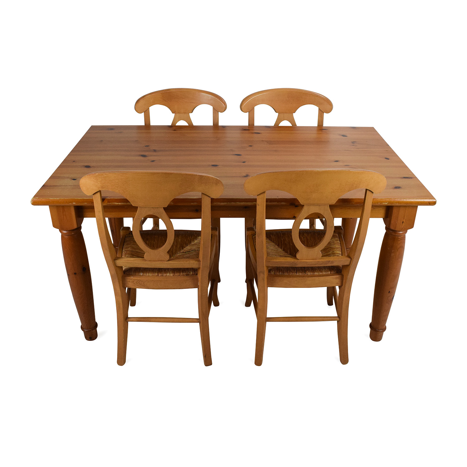 Dining Room Table With Chairs 73 Off Pottery Barn Pottery Barn Dining Room Table With