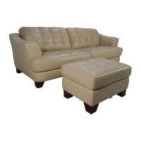 65% OFF - Bob's Furniture Bob's Furniture Leather Couch ...