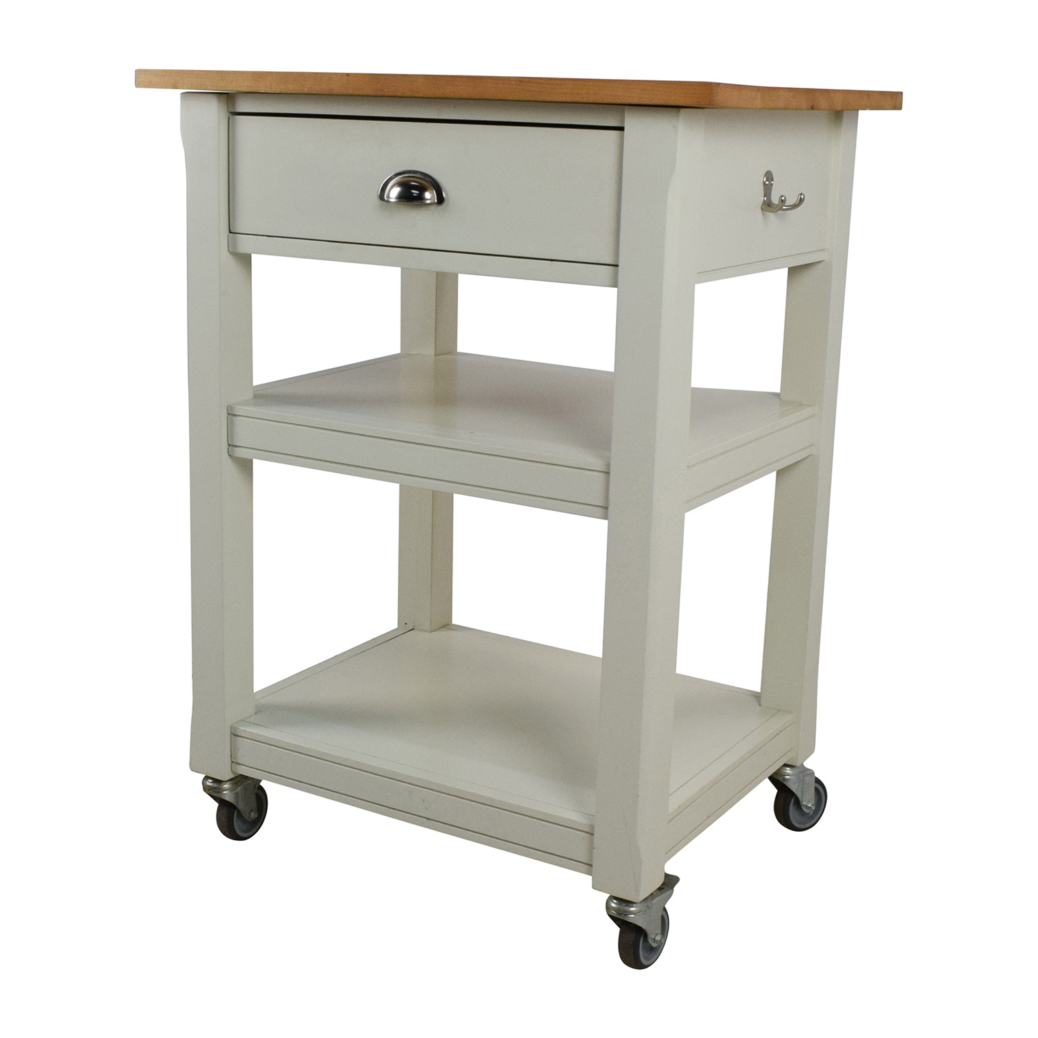 50 OFF  Rolling Kitchen Cart with Cutting Board  Tables