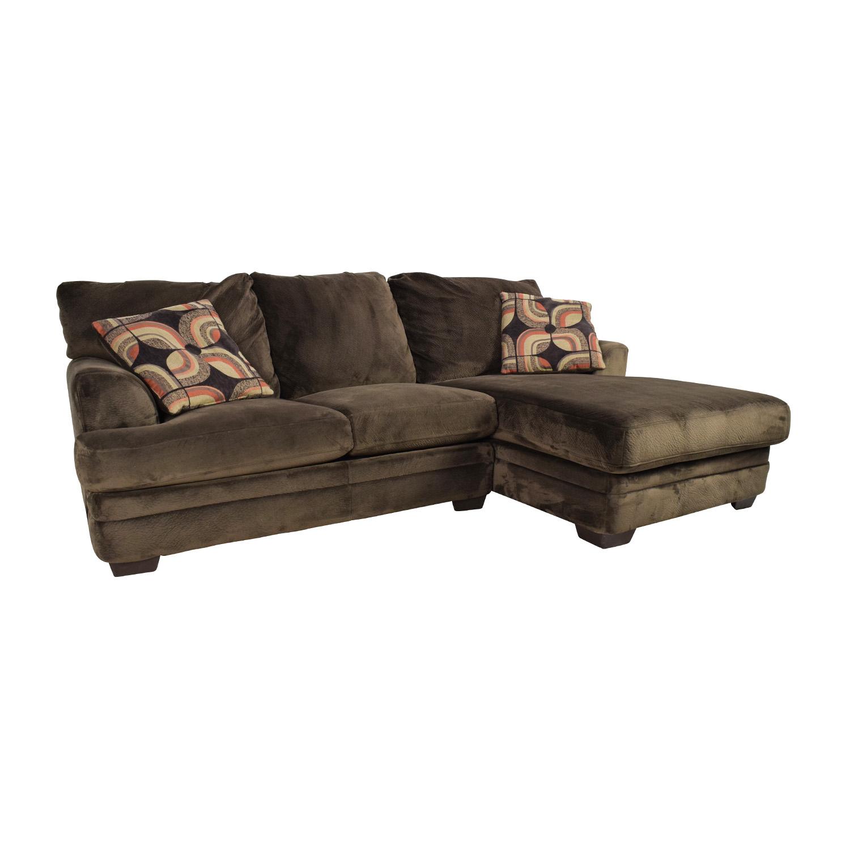 bobs furniture sofa recliner yellow set 43 off bob 39s charisma