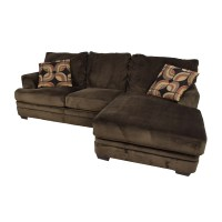 Sectional Sofas Bobs Overstuffed Sectional Sofa Couch Main ...