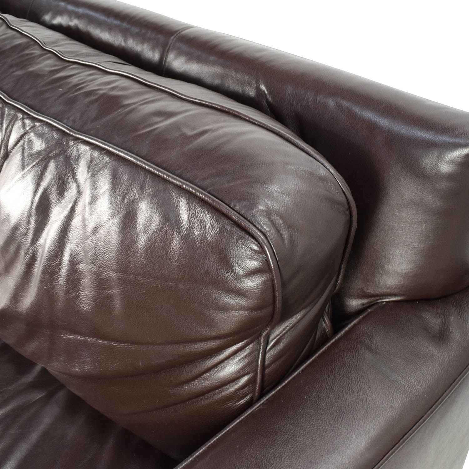 50 Off West Elm Henry Leather Sofa Sofas