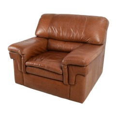 Leather Slipper Chair Chocolate Hunting Chairs For Ground Blinds 70 Off Classic Cherry Brown Armchair
