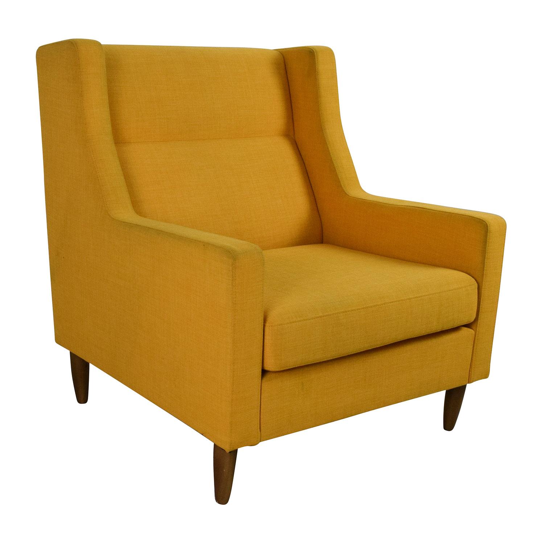 revolving chair second hand sinclair club 82 off gus modern carmichael chairs