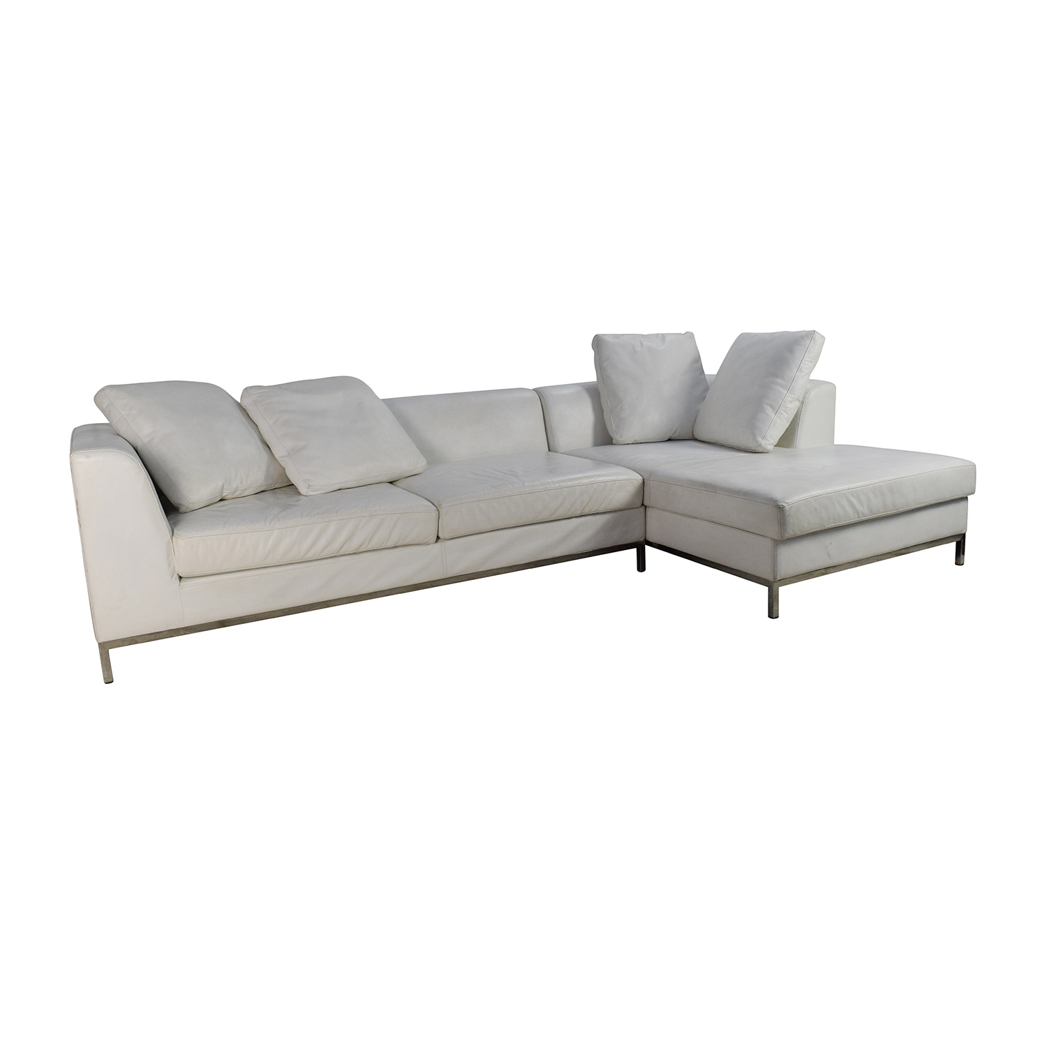 sectional sofa purchase gino corner john lewis 82 off white leather couch sofas