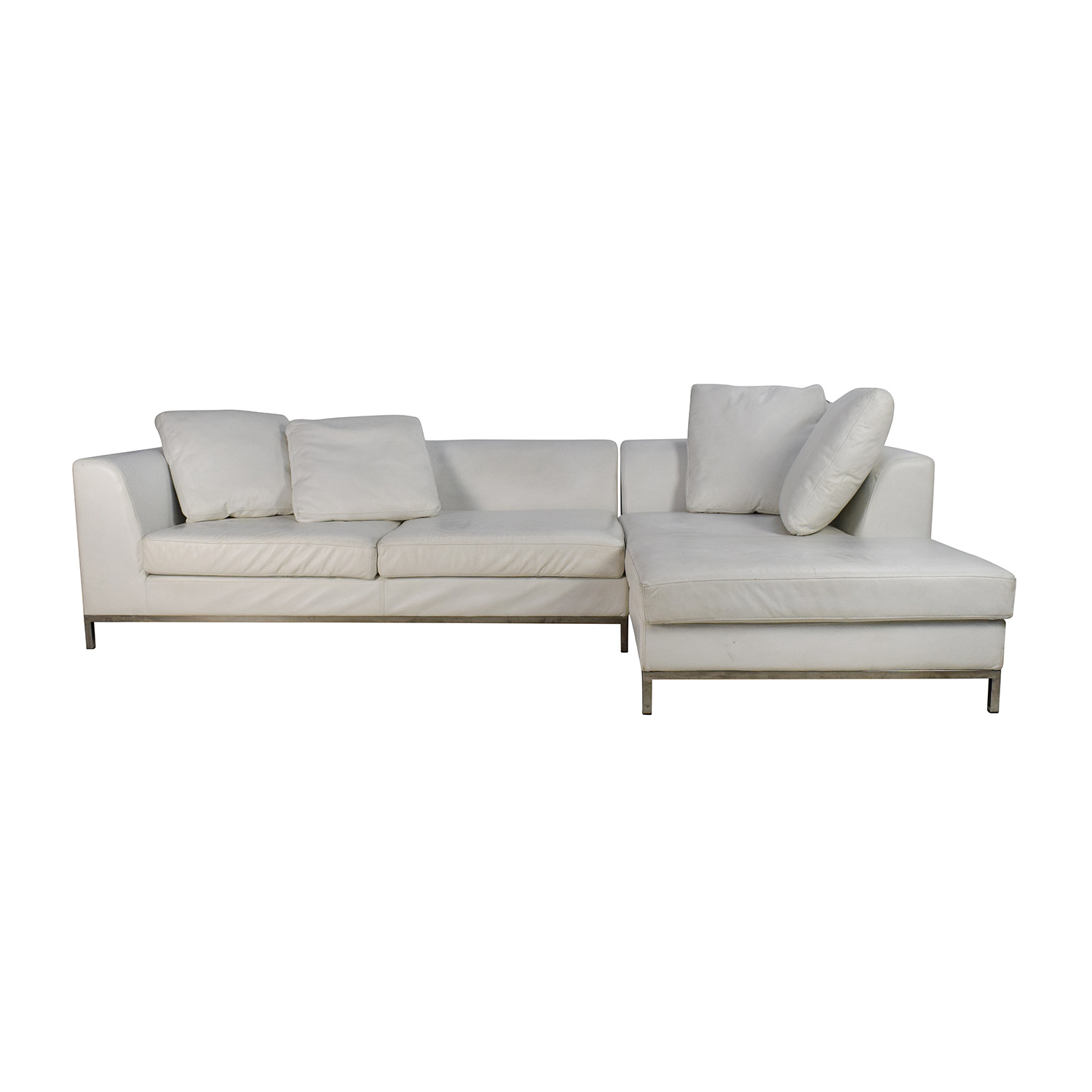 secondhand leather sofas black chesterfield sofa velvet second hand white brokeasshome