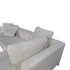Secondhand Leather Sofas Black Loveseat Sofa Bed 82% Off - White Sectional Couch /