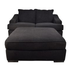 Cloth Sofa Contemporary Sofas Uk Cheap 67 Off Black Loveseat And Matching Oversized
