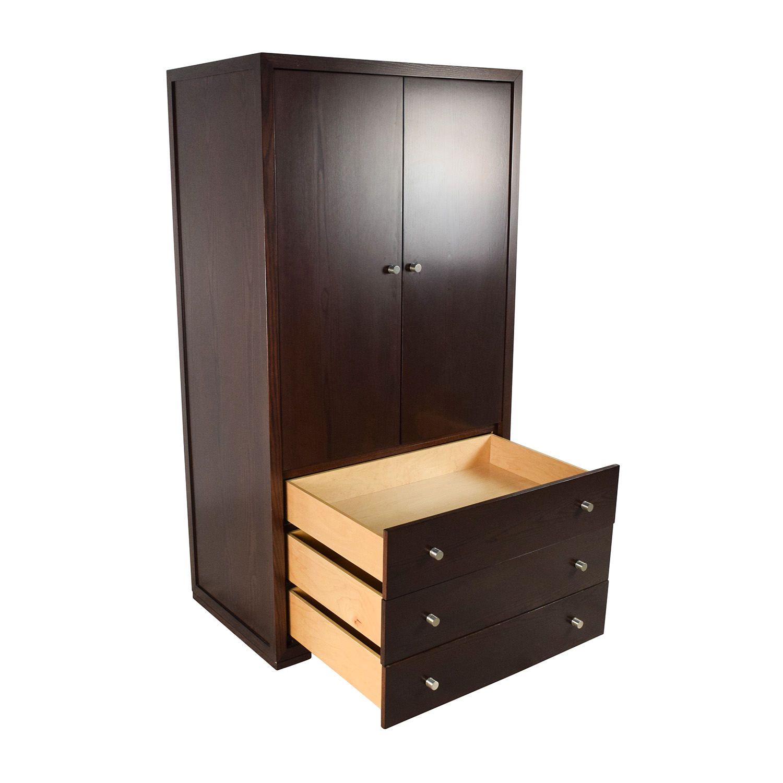 90 OFF  Custom Solid Wood Armoire Dresser  Storage
