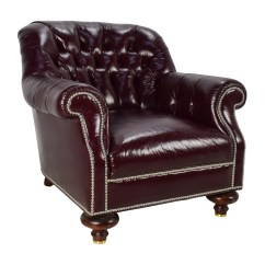 Lounge Chair Leather Doctor Stool 90 Off Baker Furniture Tufted
