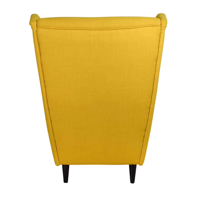 High Back Accent Armchair