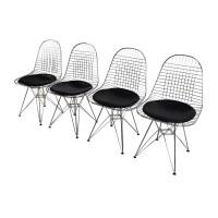 53% OFF - Herman Miller Herman Miller Eames Wire Chair Set ...