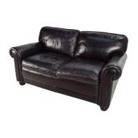 82% OFF - Bob's Furniture Bob's Furniture Leather Dark ...