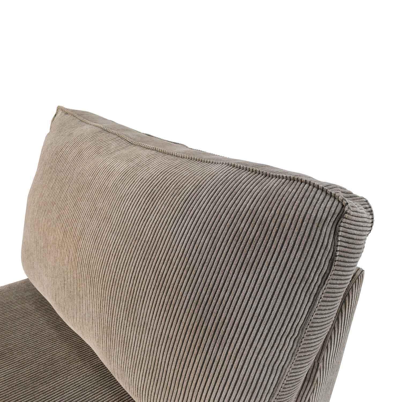 corduroy fabric sofa washable 83% off - ikea kivik chaise lounge / sofas