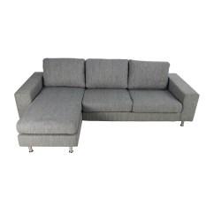 Cb2 Piazza Sofa Review Denim Blue Throw Bo Concept Sofas Corner Modular Contemporary Fabric
