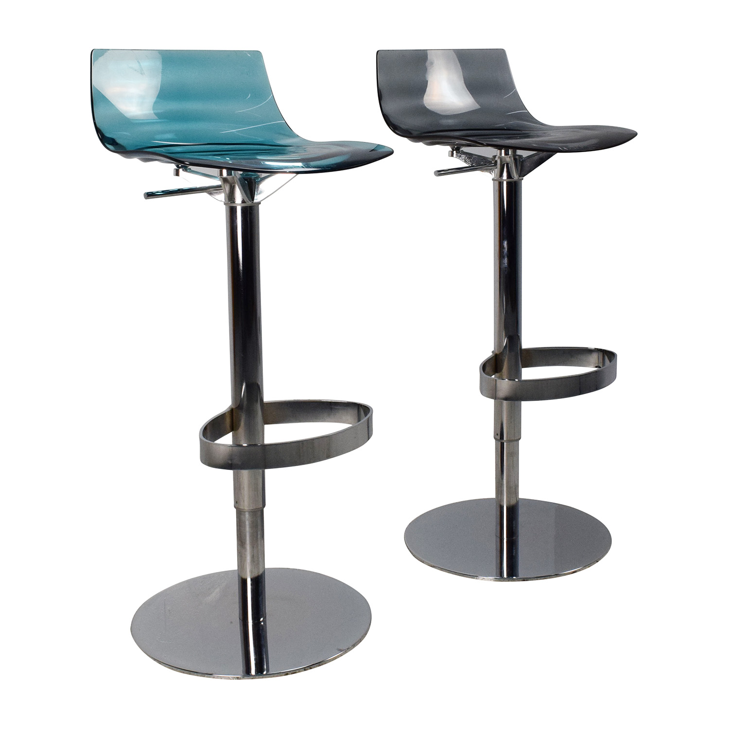 Bar Stools Chairs 87 Off Calligaris Calligaris L 39eau Adjustable Swivel