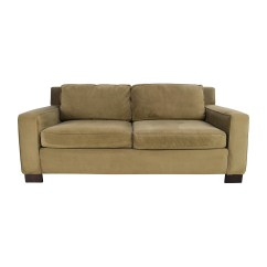 West Elm Sofa Sleeper Dakoda Power Motion Leather Henry 50 Off Clic Beige Cushion