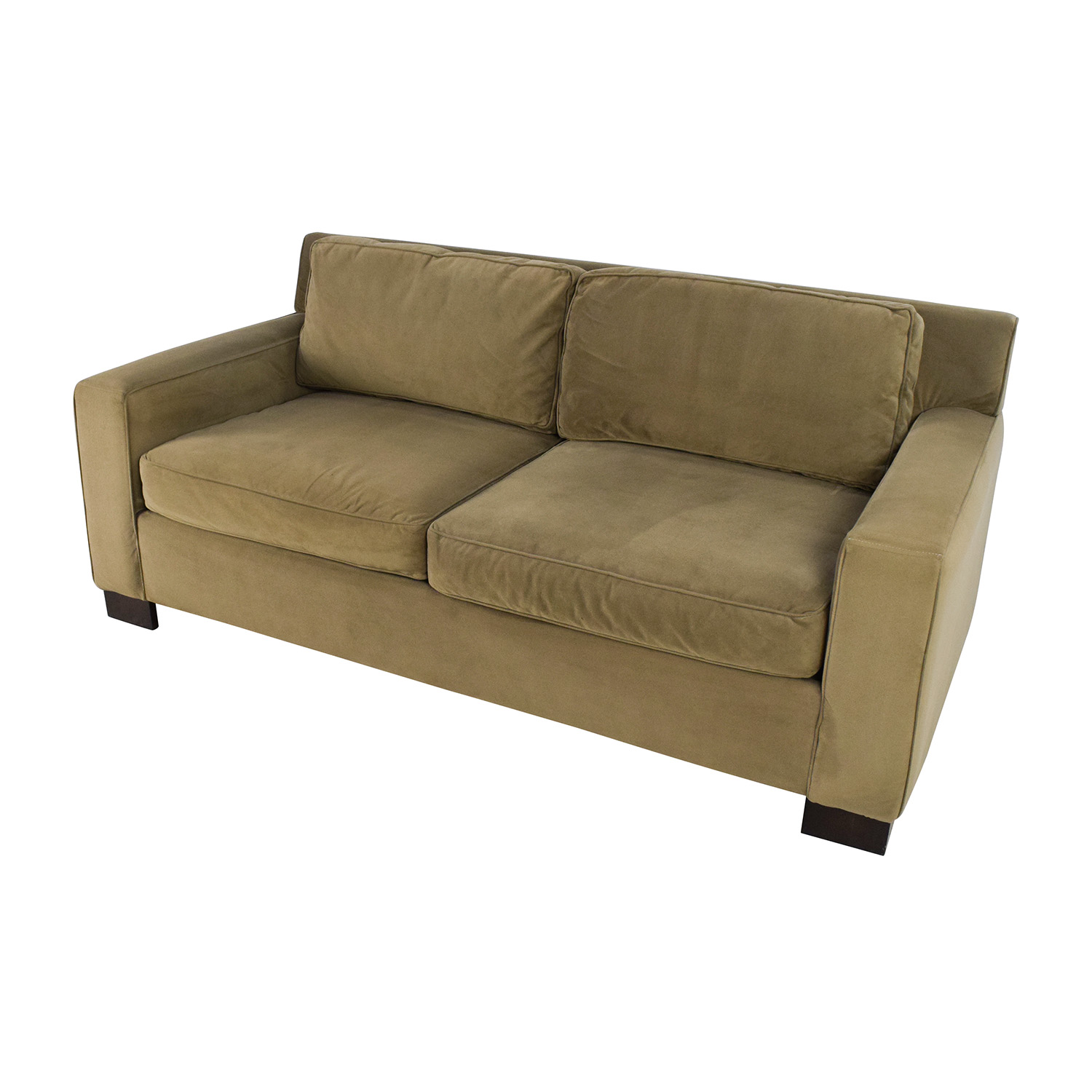 westelm sofa bed mid century modern designs 50 off west elm classic henry beige cushion