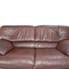Feather Filled Sofas Second Hand Springs For Sofa Repairing Used Brown Leather In Herndon Virginia 20171