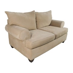 Tan Sofa And Loveseat Cheap 2 Seater 66 Off Raymour Flanigan Beige