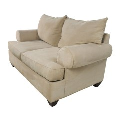 Microfiber Sofa And Loveseat Recliner 7 Piece Slipcover 66 Off Raymour Flanigan Beige