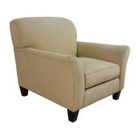 90% OFF - Rowe Furniture Rowe Furniture Capri Beige Sofa ...