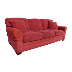 Microfiber Sofas Kathy Ireland Home Quinn Reclining Sofa Reviews 77 Off Crate And Barrel Suede
