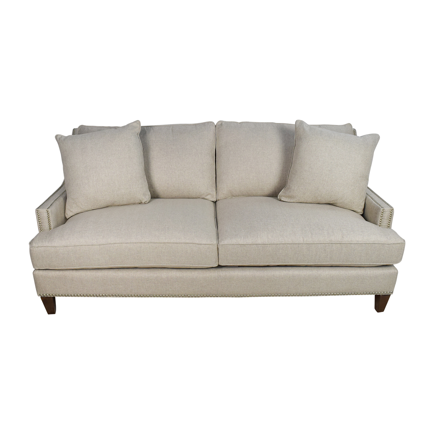jennifer convertible sofas on sale shabby chic and chairs 63 off italian navy leather tufted sofa
