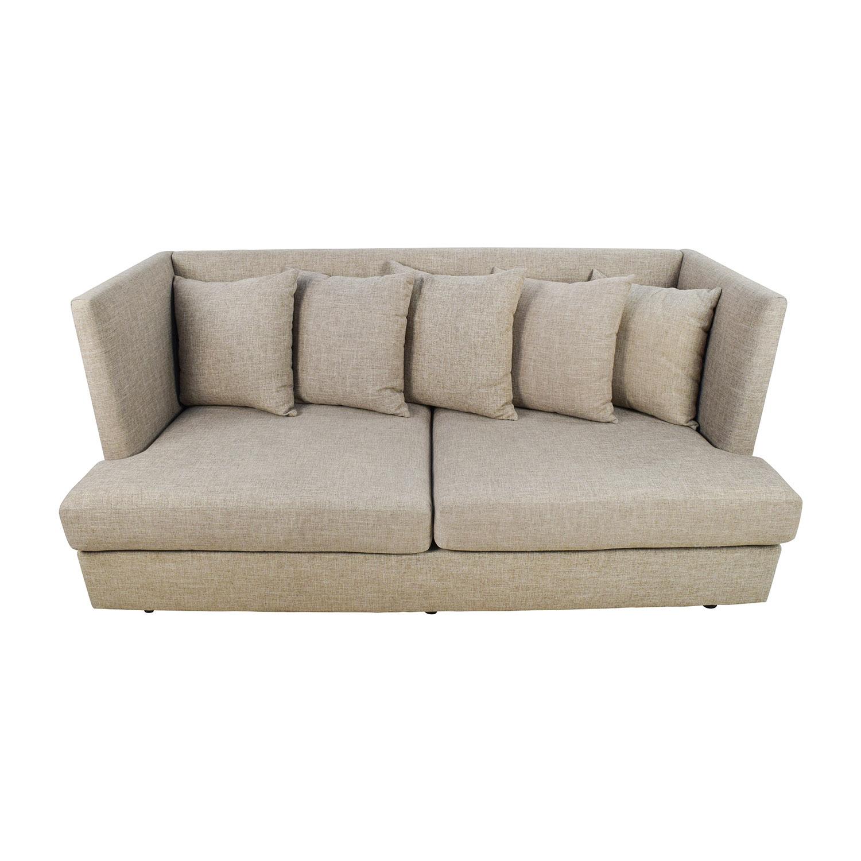 crate and barrel verano sofa smoke foam online sofas lounge ii pee 93
