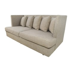 Crate And Barrel Shelter Sofa Dimensions Children S Flip Out 34 Off Beige