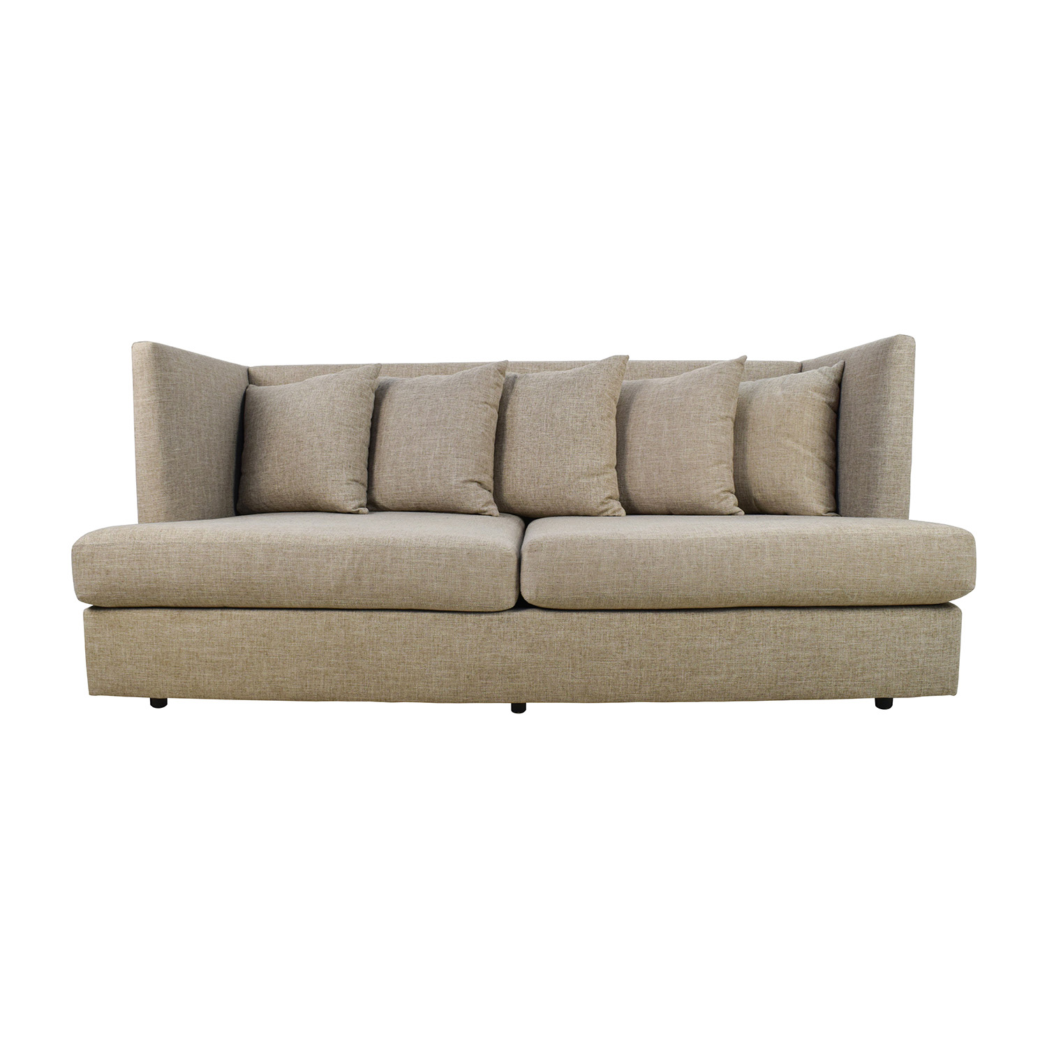 belgian shelter arm sofa cheap sofas online free shipping in beige linen thesofa