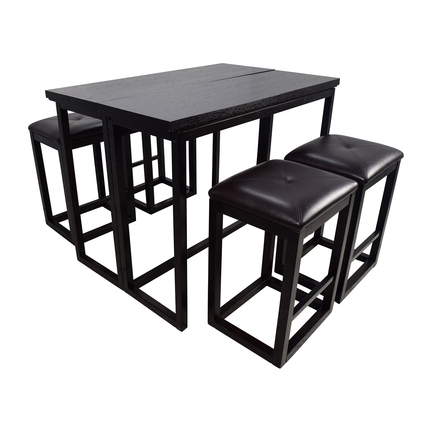 45 OFF  Counter Height Extendable Dining Table with