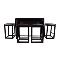 45% OFF - Counter Height Extendable Dining Table with ...