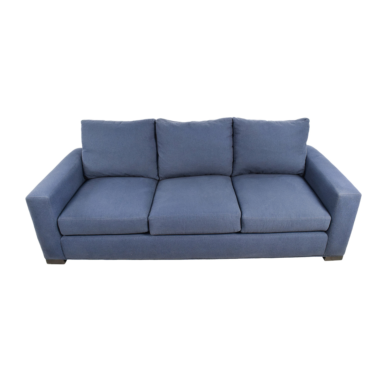 room and board metro sleeper sofa sectional costco 79 off restoration hardware